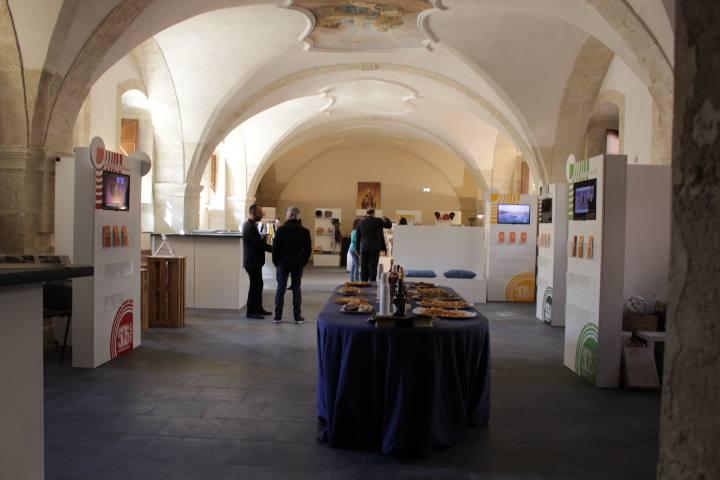 L'info point all'interno del Centro di servizi turistici della Fondazione